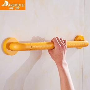 304 不锈钢厕所拉手老人防滑浴室扶手杆 卫生间墙壁防摔扶手