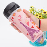 Tebhu Hui tea cup cup set plastic cup set kettle set anti-fall protective sleeve 380ML400ML430ML500ML