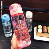 Large-capacity cups hand cup plastic outdoor fitness bottle student couple summer leak-proof cup portable cup