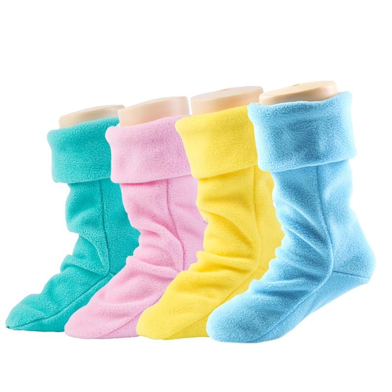 韩版纯色儿童保暖雨鞋内胆袜套男童透气加绒女童宝宝雨靴鞋垫内衬