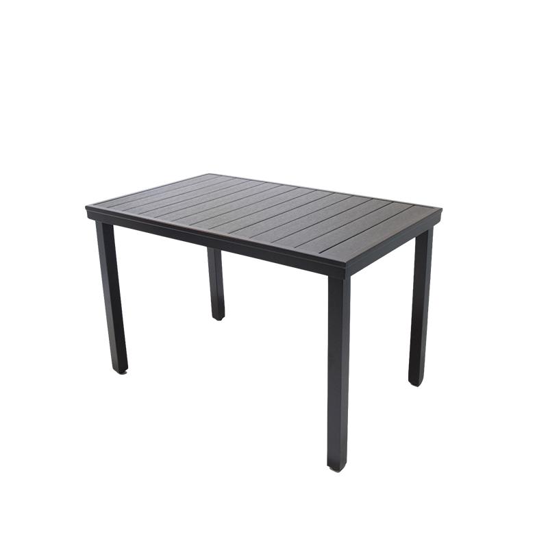 户外桌椅塑木露天餐桌庭院休闲防腐木阳台花园别墅防水五件套桌子