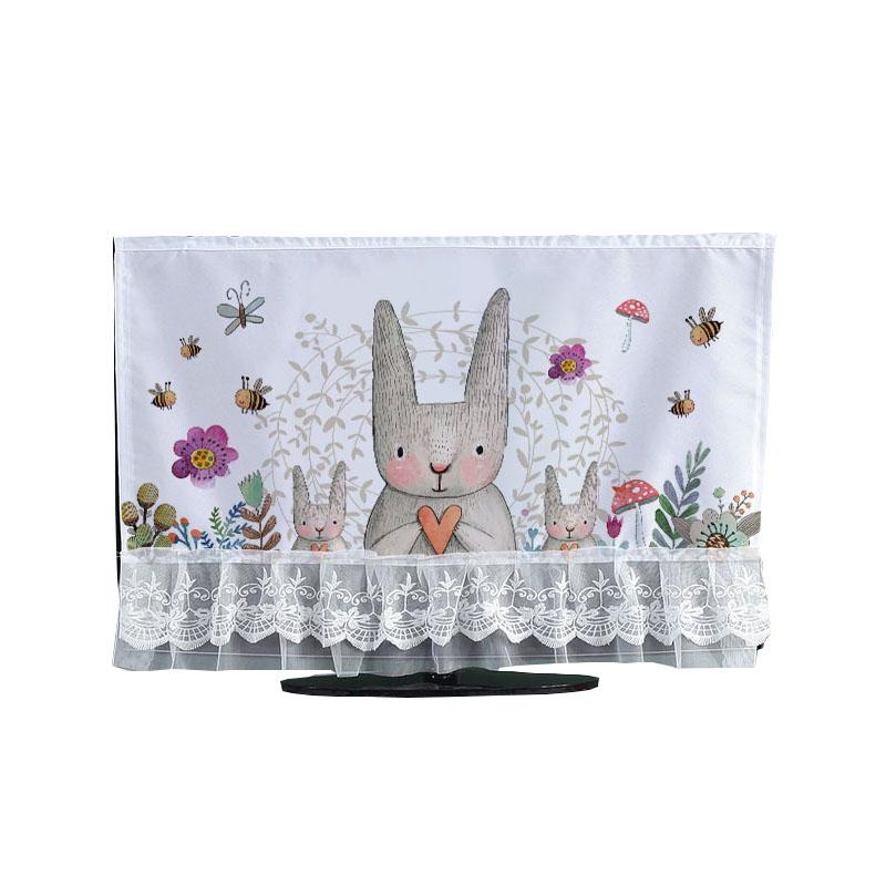 电视机罩防尘罩65寸挂式台式42寸液晶电视圈罩55英寸壁挂电视罩套