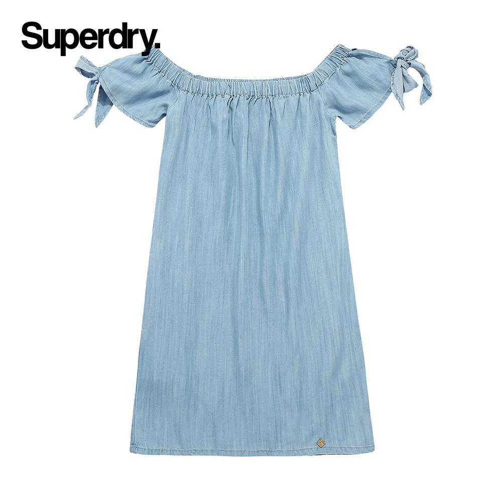 superdry连衣裙