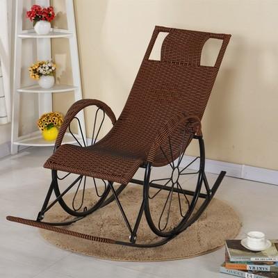 摇椅成人午睡椅懒人沙发实木多功能逍遥椅竹藤老爷椅子躺椅