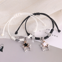 Korean version of couple's Bracelet A pair of lady's and girl's bracelets Simple student's Bracelet personality accessories bracelet Jewelry