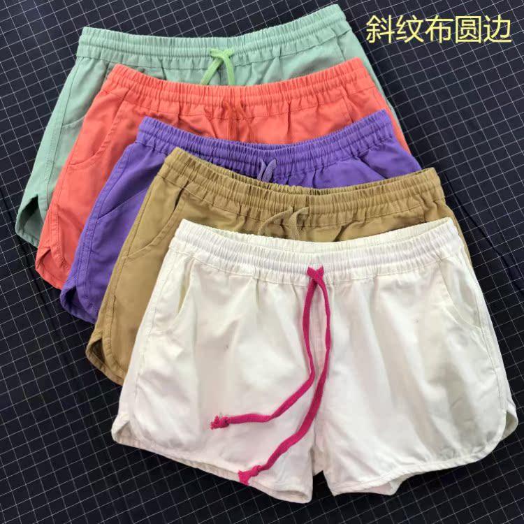 马卡龙色短裤多色,chao值白菜价,少量,先到选你喜欢