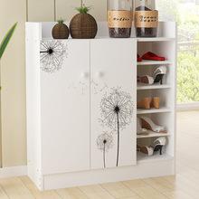 创意隔断简易收纳鞋柜超薄欧式简约现代防尘组合玄关组装门厅鞋柜
