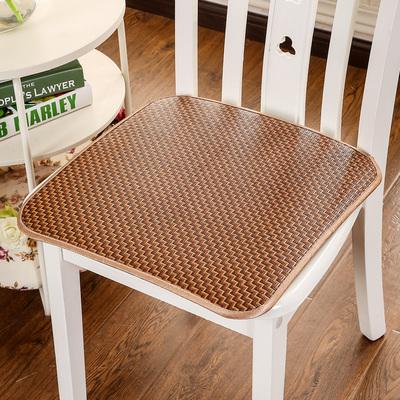 冰丝藤草坐垫夏天通用餐椅垫凉垫 椅子办公室椅子坐垫汽车座垫夏