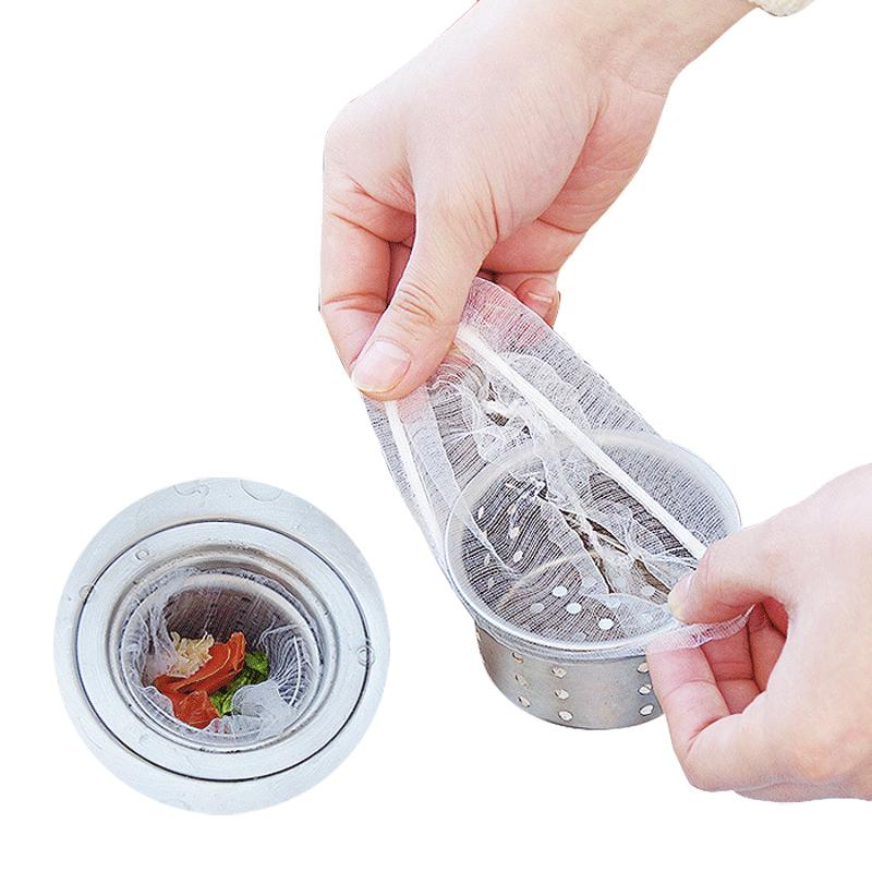 下水道过滤网厨房洗碗水池水槽网袋浴室防发防毛垃圾排水口地漏网
