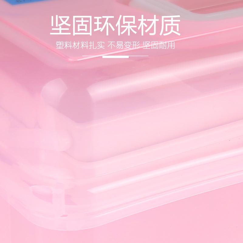美甲工具箱整理箱收纳盒美甲师化妆箱子多功能大号三层手提式