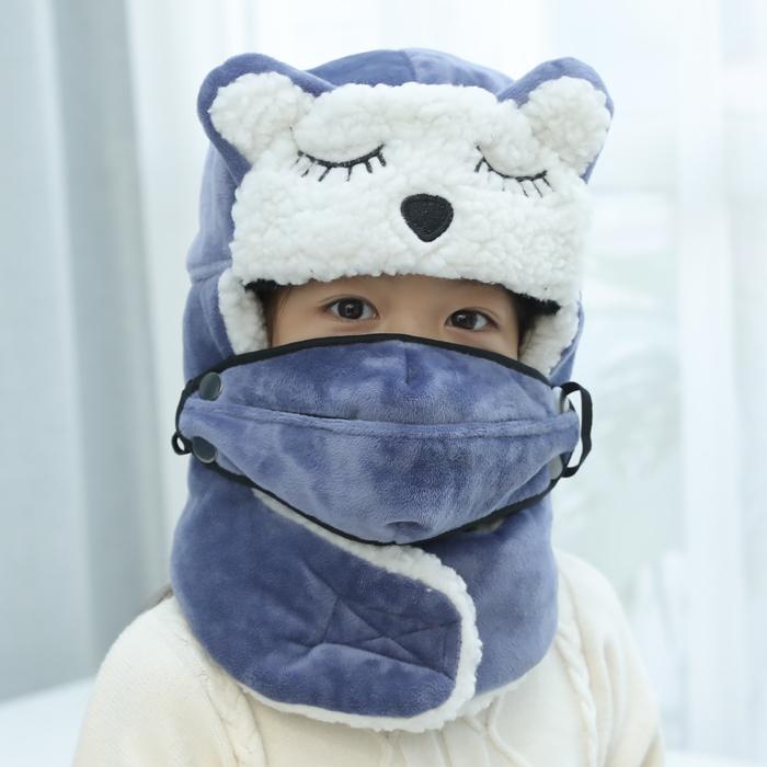 冬季棉帽女