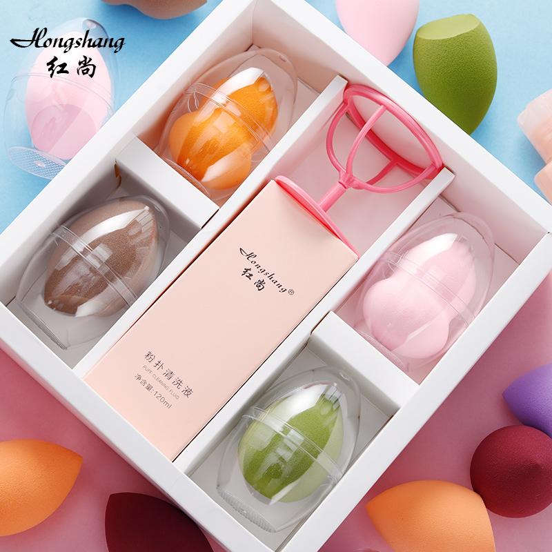 升级版超软不吃粉 礼盒装葫芦粉扑化妆海绵美妆工具彩妆棉美妆蛋图片