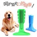 宠物小狗狗咬胶玩具磨牙耐咬牙刷口腔清洁工具金毛泰迪大中小型犬