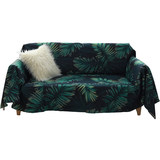 Nordic Sands released full-cover sofa towel gai boins wind green plant sand release single double net red lazy sofa set