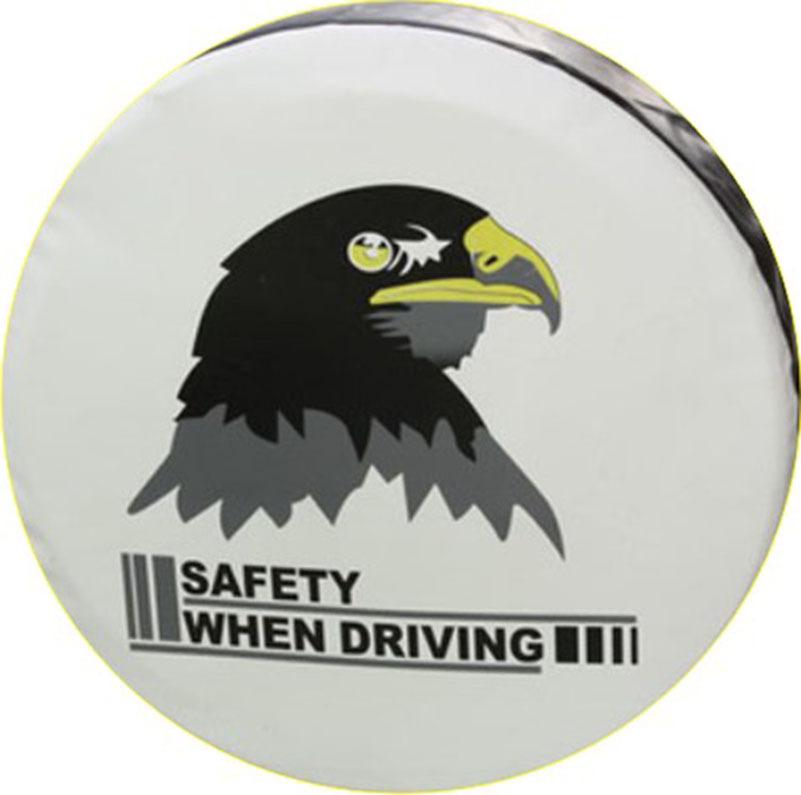汽车备胎罩pvc加厚防水轮胎保护罩越野通用款纯黑轮胎罩