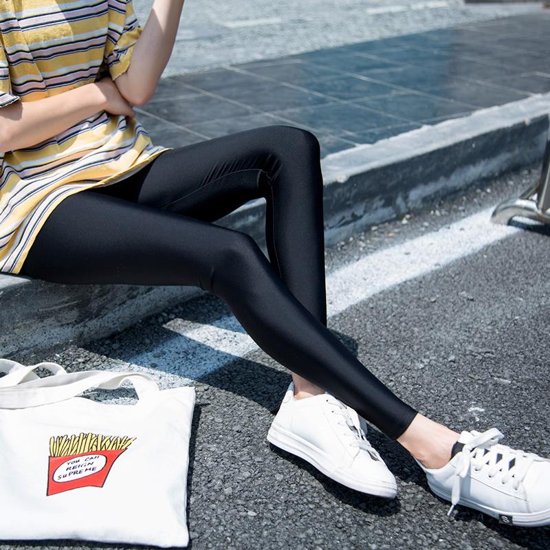 超薄小脚裤女