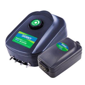松宝鱼缸氧气泵增氧泵养鱼增氧机小型超静音家用220v电压