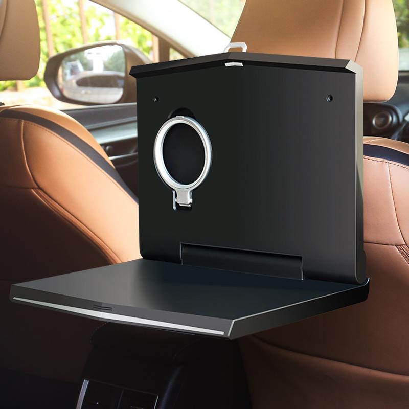 车载小桌板折叠餐桌后排后座车用学习办公汽车平板笔记本电脑支架