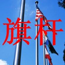 单位幼儿园学校广场升国旗户外不锈钢旗杆国旗杆6米9米12米15米