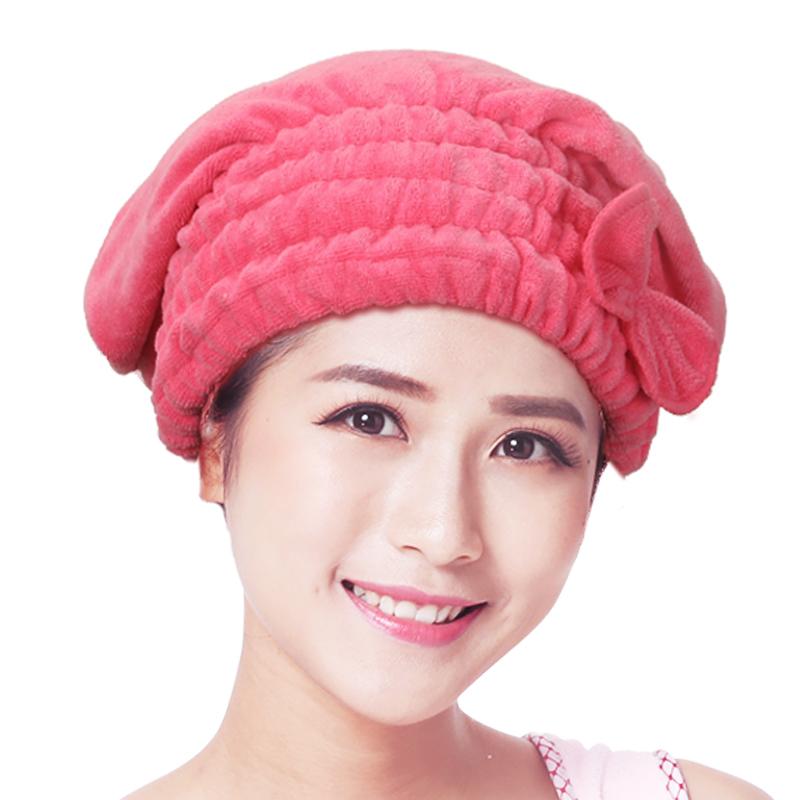 洗头浴帽干发帽女加厚吸水可爱包头巾速干长发头发擦发洗头巾毛巾