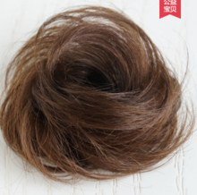 True hair package wig bag half pill head fluffy natural hair ornament hair rope head flower invisible traceless curling ring