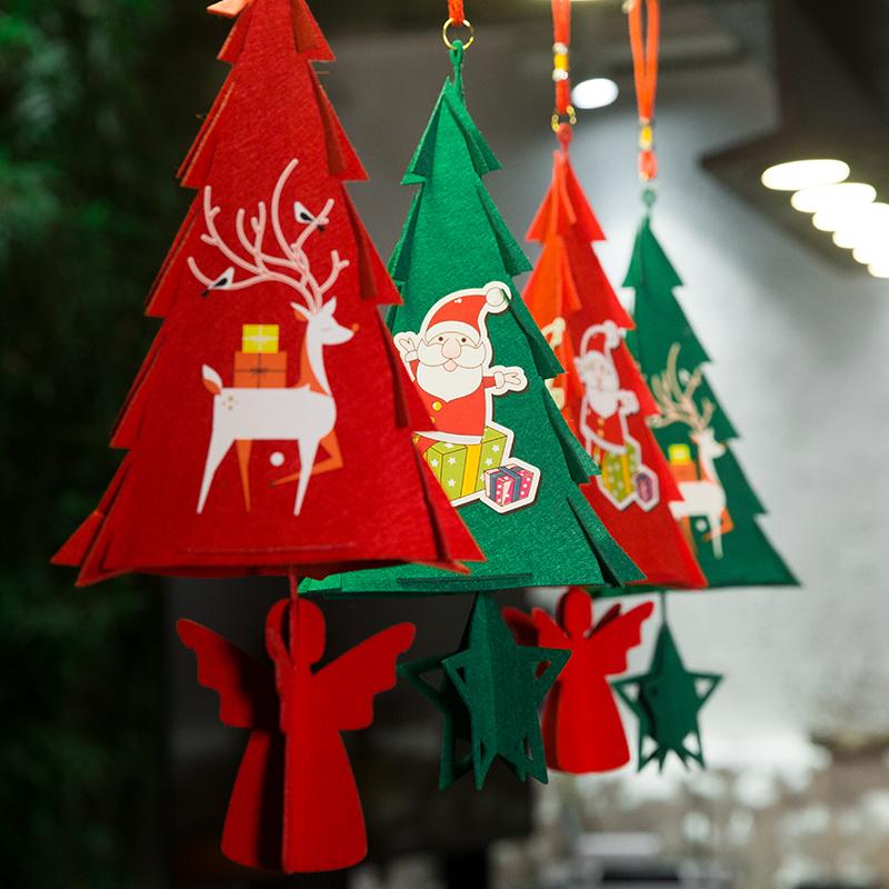 圣诞树套餐大型小迷你家用圣诞节装饰用品场景布置圣诞老人雪人