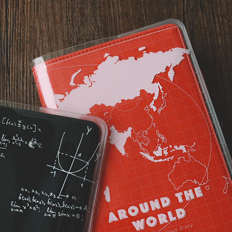 透明胶套笔记本