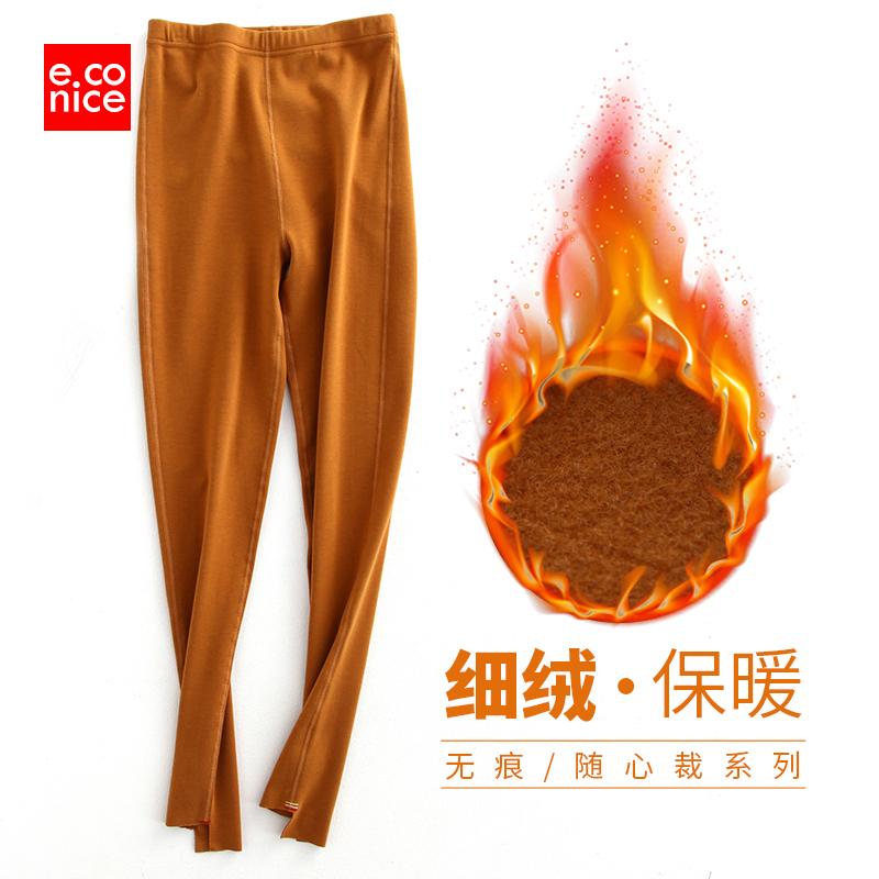 发热棉裤女