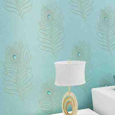 欧式刺绣墙纸客厅排行榜