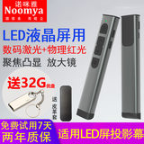 Nomiya riflettore dimostratore LED LCD screen penna laser laser focus zoom remote control pen