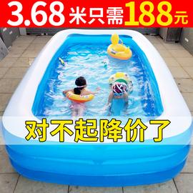 儿童游泳池超大型家庭充气水池家用大人加厚婴儿小孩宝宝洗澡桶图片
