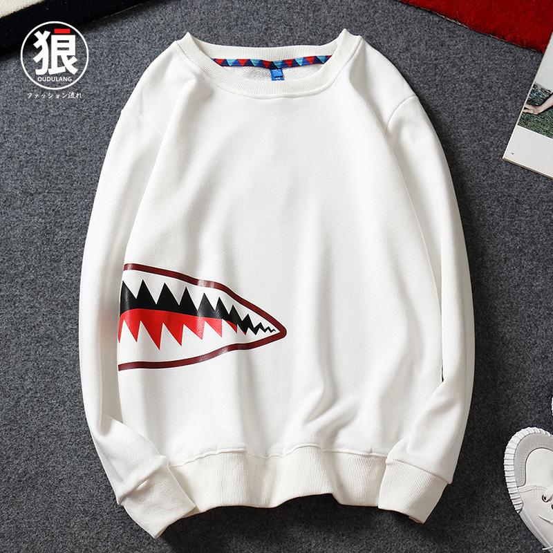 鲨鱼嘴卫衣