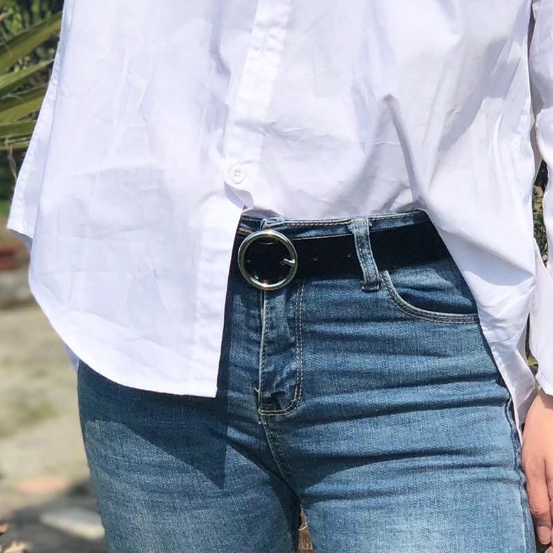 韩国牛皮皮带扣