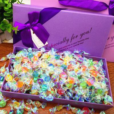 爱久久千纸鹤糖果大礼包礼盒装情人学生生日圣诞节199颗包邮