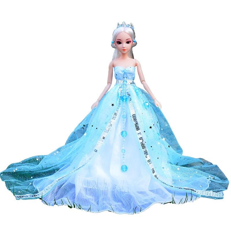 短裙连衣裙萝衣服莉娃娃叶罗冰公主精灵孔雀套装仙子丽扮梦古装