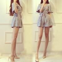 欧洲蕾丝短裤