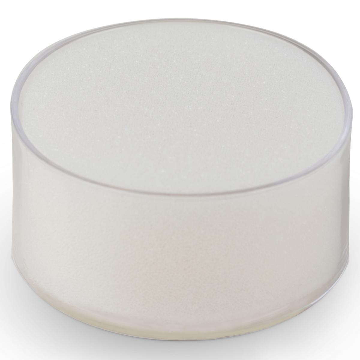 得力海绵缸9102 办公财务用品 圆形点钞湿手器 沾水缸 海绵材质
