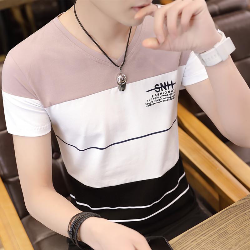 男棉韩版小衫