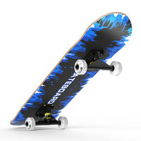 Double force double-up skateboard beginner adult road professional board youth boys and girls children four-wheeled scooter