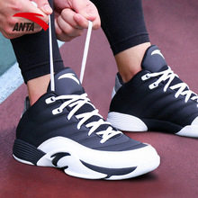 Anta Basketball Shoes Men's Shoes Spring 2019 New Shoe Zheng Brand Official Website 60th Memorial Student Sports Shoes Men