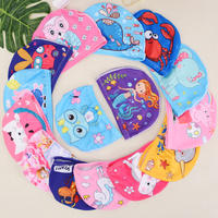 Factory direct children's swimming cap cute cartoon boy girl universal child baby child comfortable swimming cloth cap