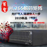 H,265 audio and video network HD digital decoding matrix compatible with Haikang Dahua surveillance video decoding host