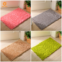 Door Mat carpet door pad suction pad toilet door mat bedroom toilet bathroom anti-skid pad home