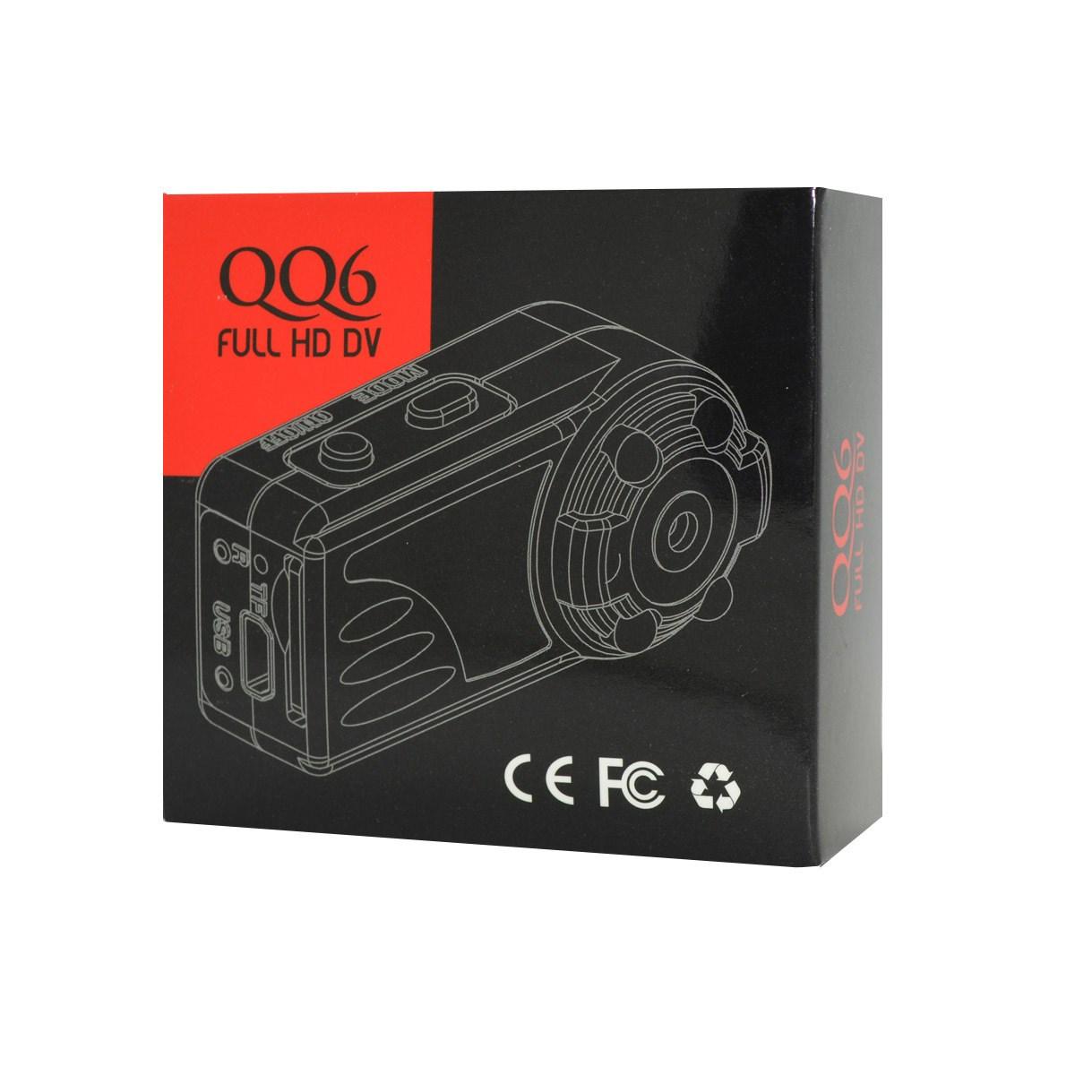 跨境数码爆款 QQ6数码相机 会议记录仪 红外夜视监控摄像机