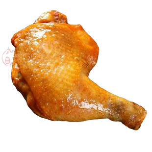 盛大新鲜奥尔良大鸡全腿1000g冷冻中西式快餐便当5条10包省内免邮