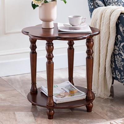 北欧沙发边几柜实木移动小茶几床头小圆桌客厅迷你边角柜收纳角几