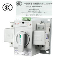 Dual power automatic transfer switch 2P 63A switch switch CB grade ATS home single phase 220V