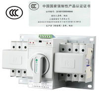 Dual power automatic transfer switch 4P 63A switch CB level ATS mini three-phase four-wire