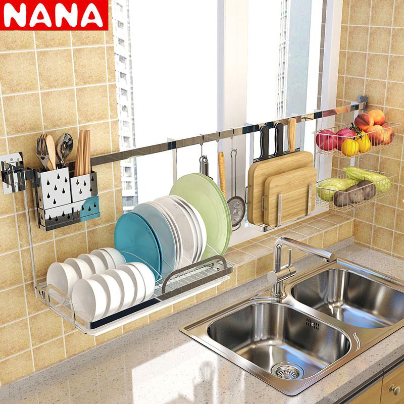 厨房挂架碗碟不锈钢