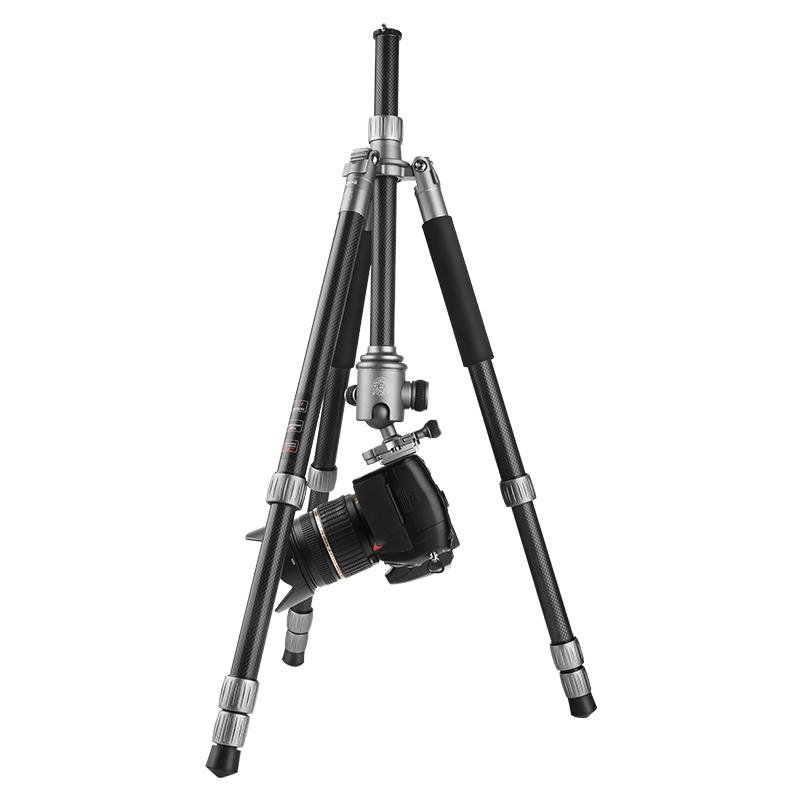 轻装时代Q868C碳纤维三脚架单反相机便携旅行摄影三角架云台套装